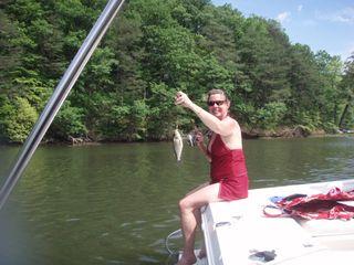 Karen & fish