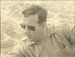 Dad sailing